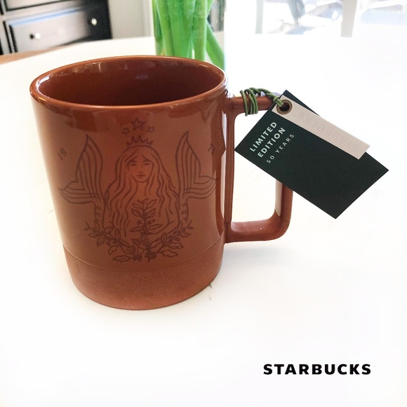 NWT Starbucks 50th Anniversary Mermaid Mug